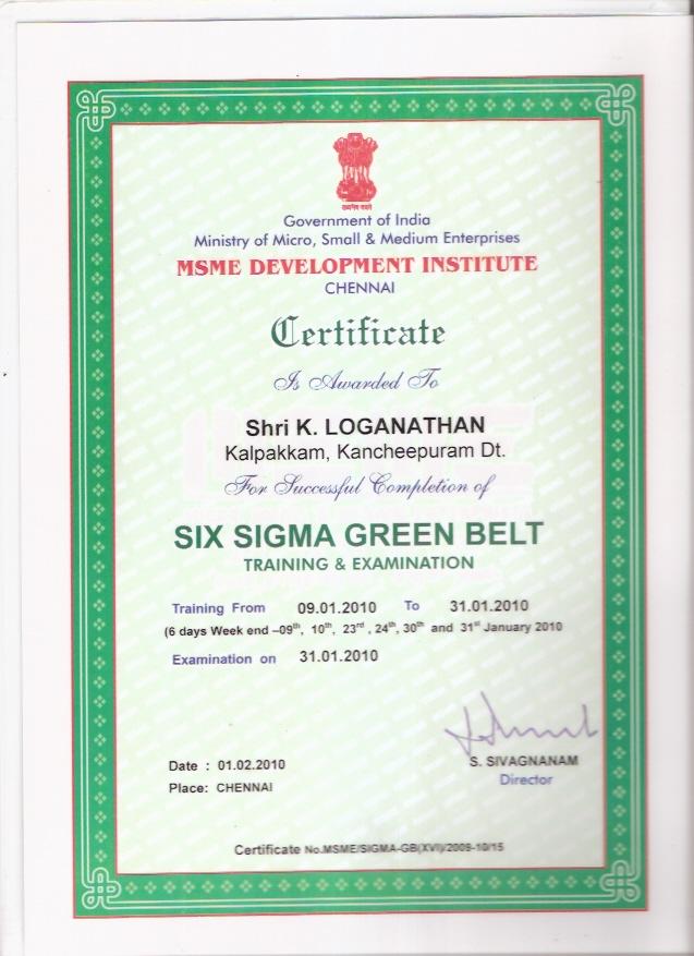 Logu Certifications